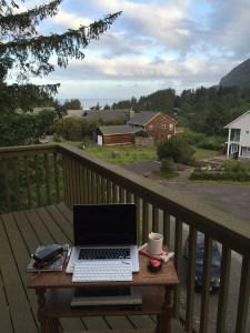desk 2 view