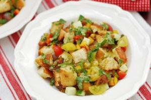 Family Favorite Panzanella: An Italian Bread Salad
