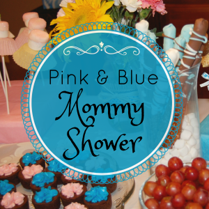 Pink and Blue Mommy Shower