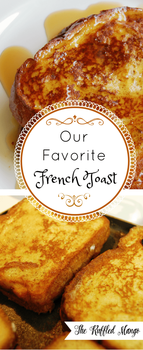 The best French toast I've ever tasted! A must try!