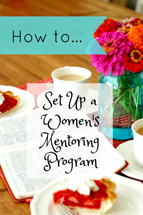 Forming connections with your church family can be difficult, but participating in a women's mentoring group might be just the ticket for life-long bonds with your sisters. ~The Ruffled Mango
