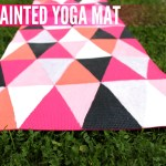 DIY Painted Yoga Mat – How To