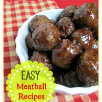 EASY Meatball Recipes in the Slow Cooker