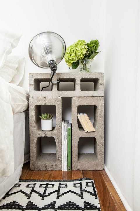 Cinder Block SHelf