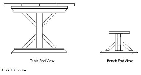 hot to build a picnic table