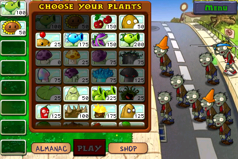 PvZ Battle Preparation