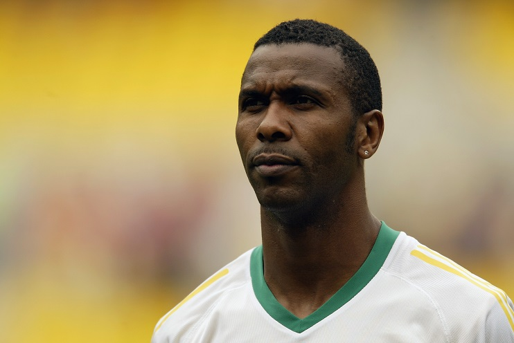 Lucas Radebe of South Africa
