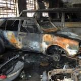 Nigerian Car Dealership shop burnt down in South Africa