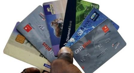 Nigerian ATM cards image