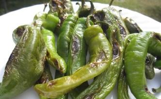 roasting sweet peppers