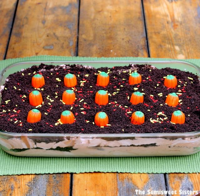 Double Chocolate Oreo Halloween Dirt Cake Recipe