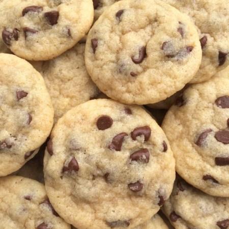 Soft Mini Chocolate Chip Cookie Bites