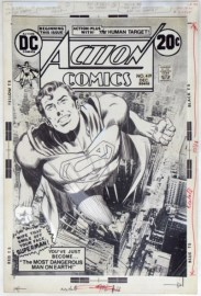 Neal Adams cover for Action Comics 419