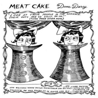 "Panel from Dame Darcy's ""Meat Cake"""