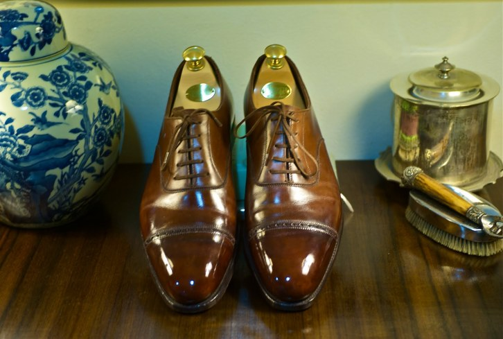 Crockett & Jones Shoe, Brilliant Shine (and picture courtesy) by Rugged Old Salt
