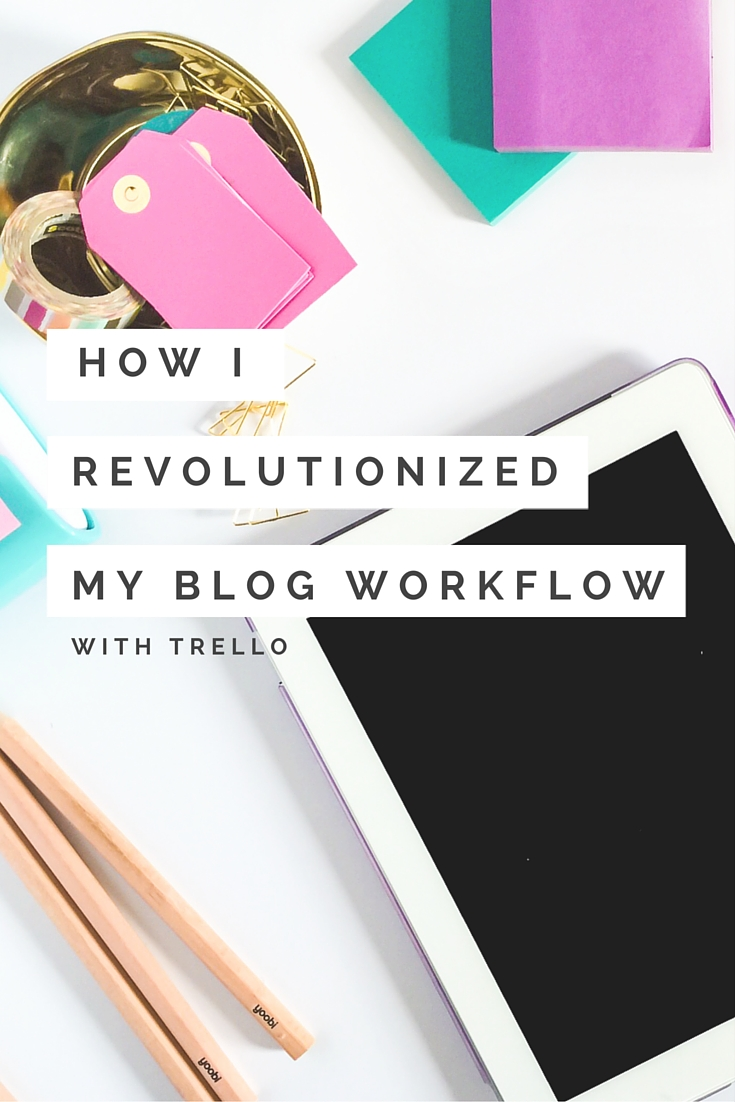 How to Organize Blog Ideas With Trello - How I Revolutionized My Blog Workflow with Trello - The Shop Files