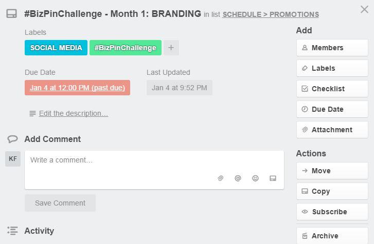 How to Organize Blog Ideas With Trello - Trello - Card View
