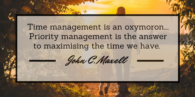 Time Management Priority