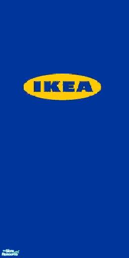 lolo1037's IKEA logo wallpaper
