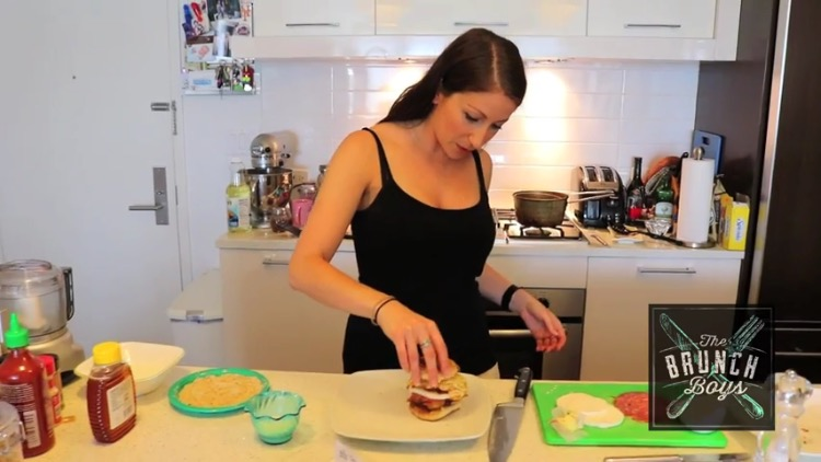 NEW YouTube: Roberta's Holy Ravioli Sandwich (via Brunch Boys)