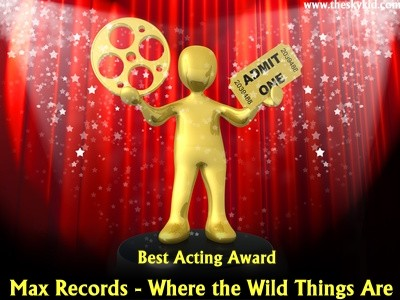 Best Acting Award Second Annual Coming of Age Movie Awards