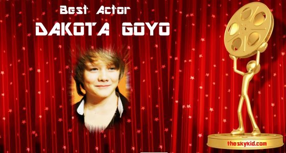 Best Actor Dakota Goyo
