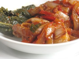 A shortcut to chicken cacciatore