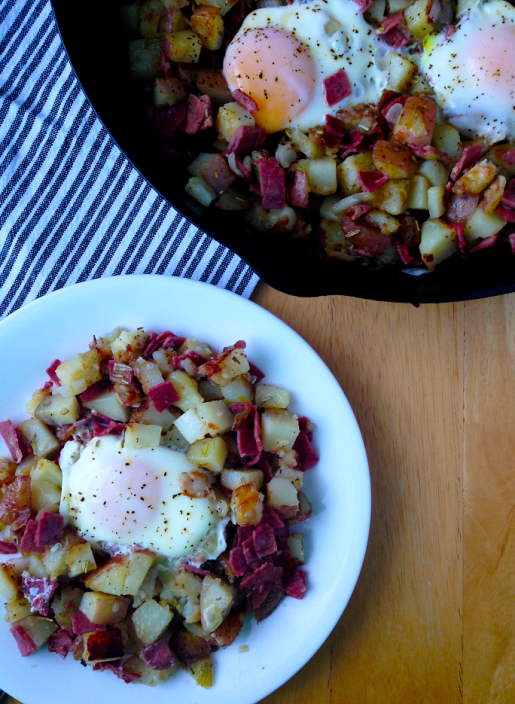 Corned Beef Hash / The Small Town Foodie