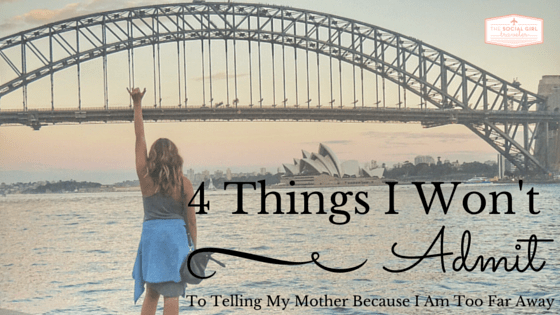 4 Things I won't