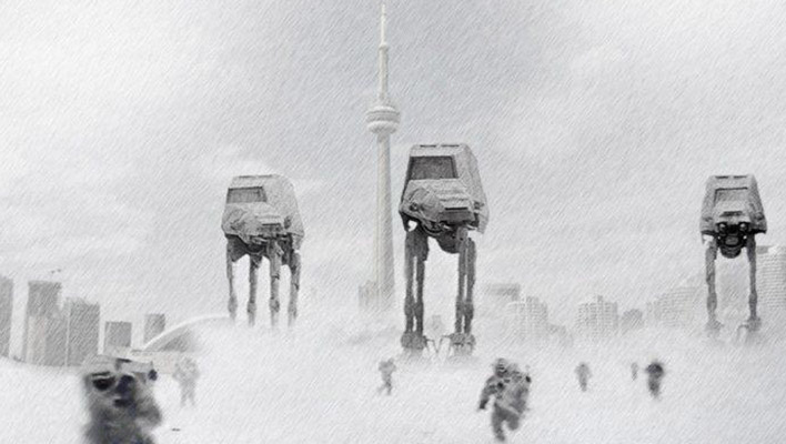 Snowpocalypse Toronto - thanks to twitter.com/danisonfire for the image