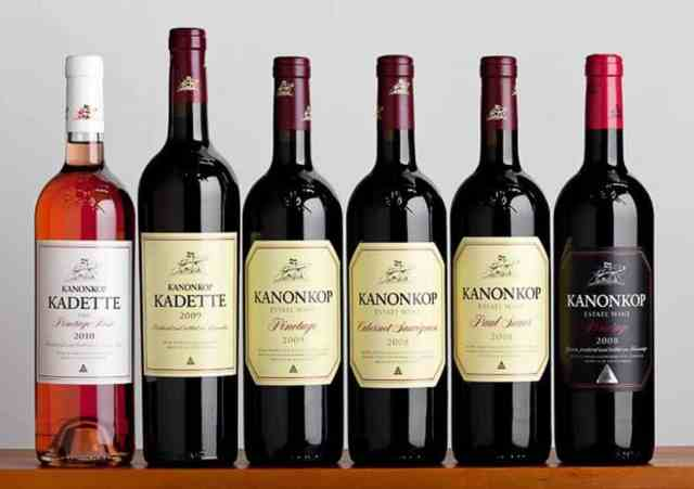 South African products - pinotage