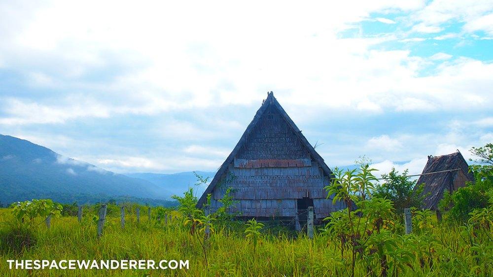 An ancient house at Bada Valley
