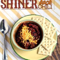 Shiner Bock Chili