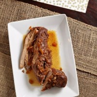 Slow Cooker Balsamic Pork Tenderloin