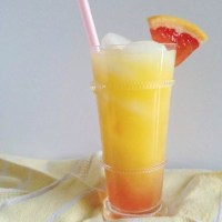 Sweet Sunrise Mocktail {Guest Post from Feast + West}