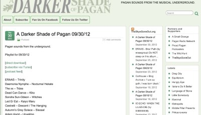Darker Shade of Pagan Pagan Blog