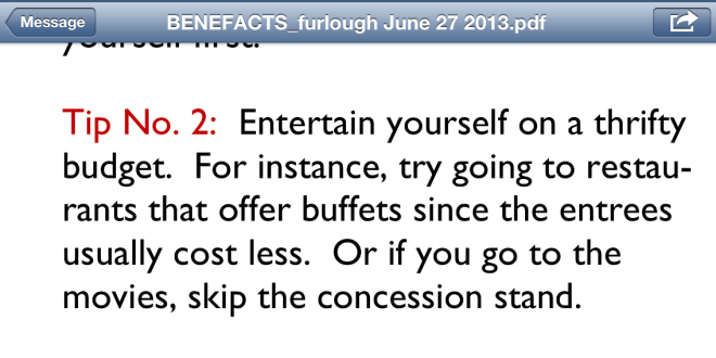 Financial tip #2