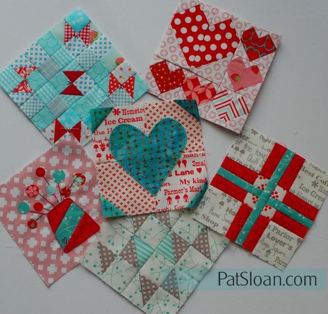 Pat Sloan 6 splendid blocks