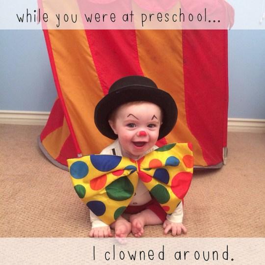 clownedaround