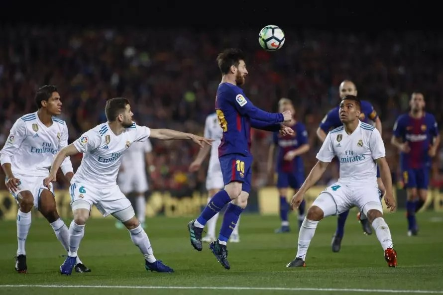 Lionel Messi on the scoresheet for Barcelona against Real Madrid