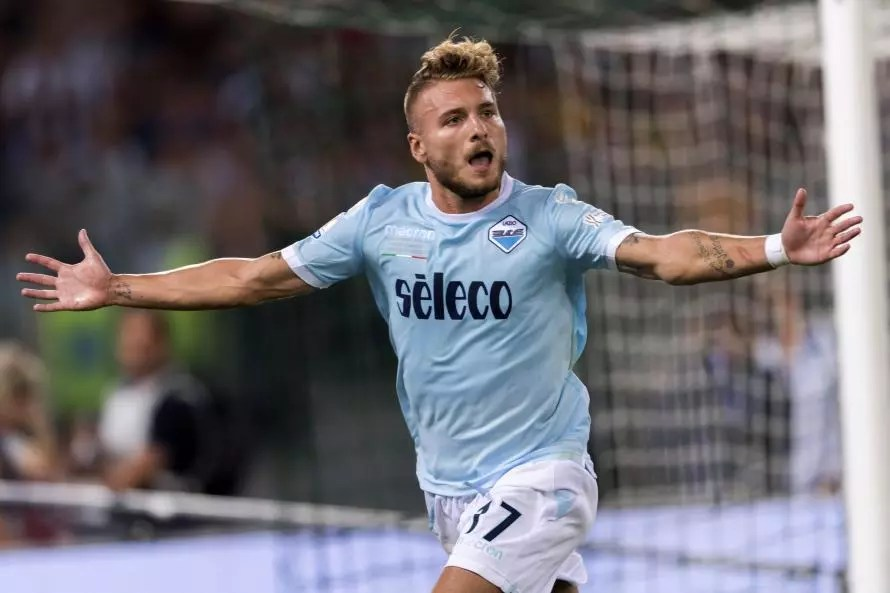 Image result for immobile lazio