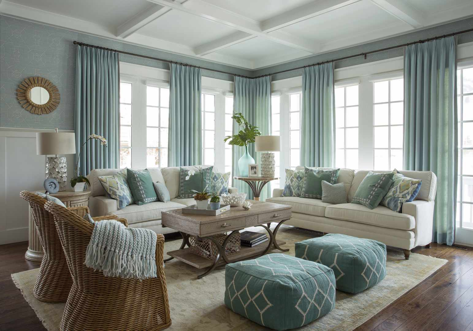 Blue Living Room Ideas