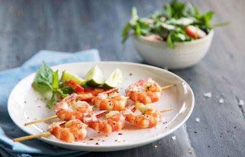 Medium Of How Long To Grill Shrimp
