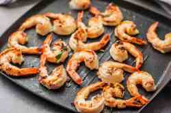 Cheery Scallop Skewers Grilled Jumbo Shrimp 335993 7 Preview 5b2bd5e5312834003743a30e How Long To Grill Shrimp On Stove How Long To Grill Shrimp