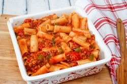 Small Of Baked Ziti With Chicken