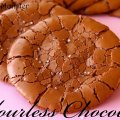 Flourless chocolate cookies