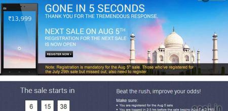 Xiaomi Mi3 Sold in 5 Seconds