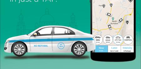 Meru Kolkata AC Taxis
