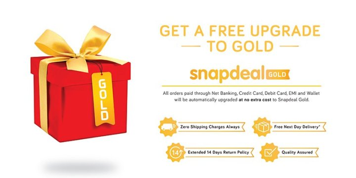 Snapdeal Gold