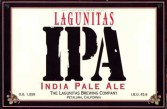 Lagunitas IPA Label